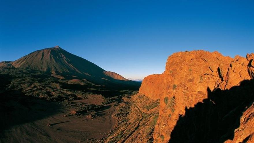 Vista parcial del Parque Nacional del Teide.