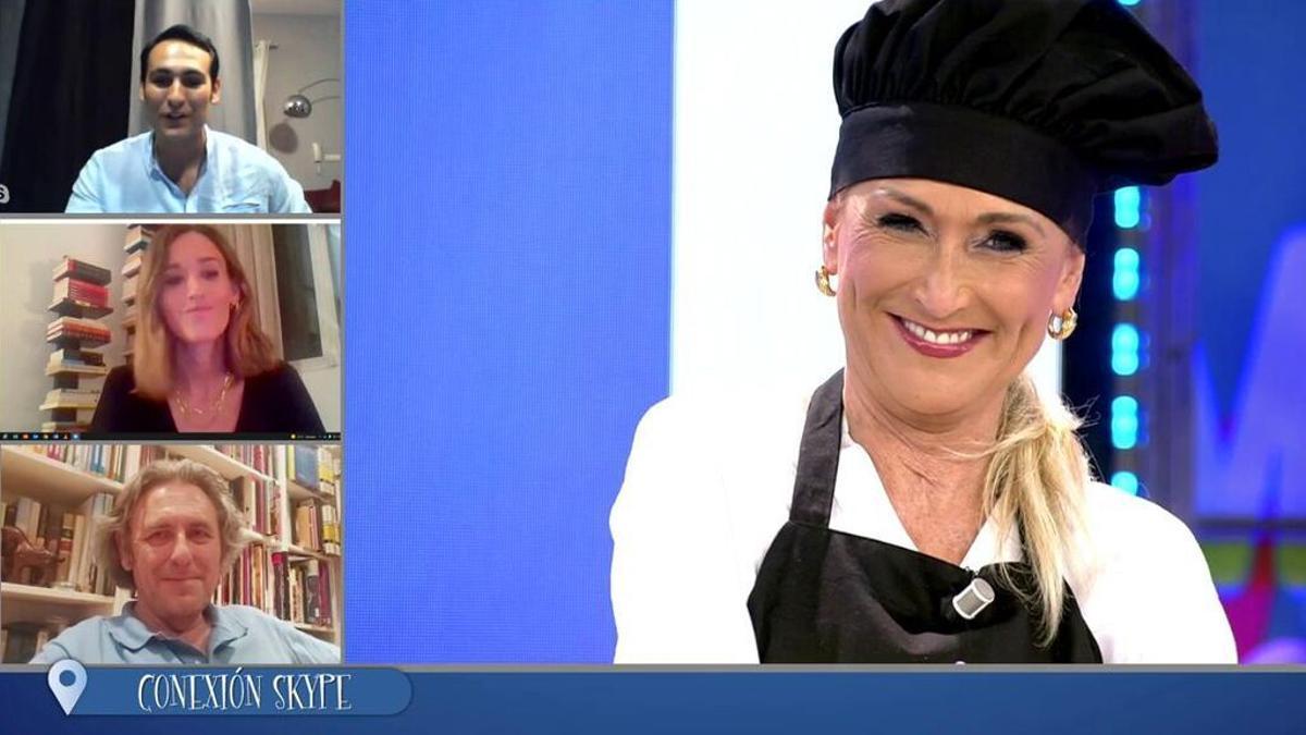 La sorpresa a Cristina Cifuentes en 'La última cena'