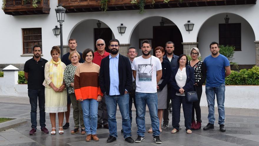 Candidatura de IUC al Ayuntamiento de Los Llanos de Aridane.