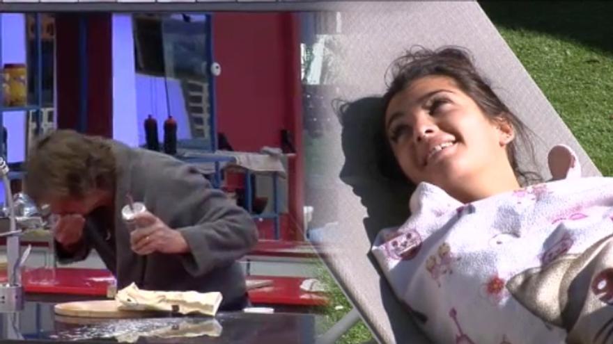 'GH VIP': Elettra y Daniela gastan una broma que casi provoca el vomito de Alejandro