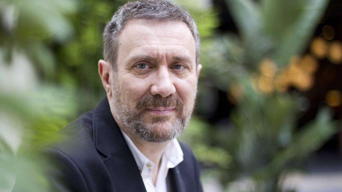 El escritor madrileño Luisgé Martín. EFE/Marta Pérez/Archivo