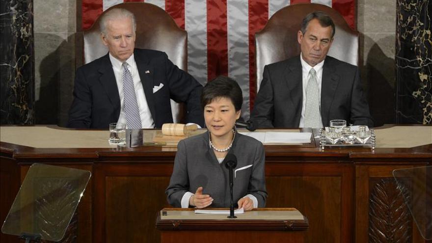 Park dice que un mundo sin armas nucleares debe empezar por la península coreana