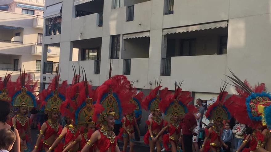 Desfile del Carnaval de Los Llanos de Aridane.