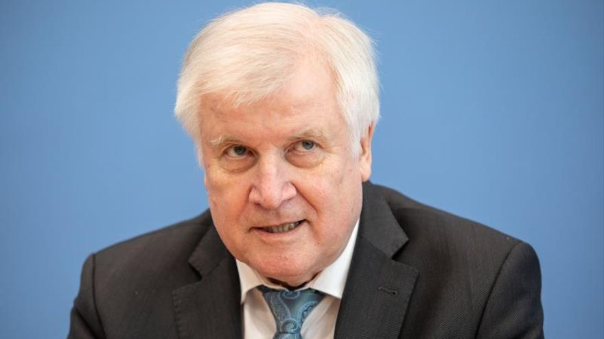 Minister of Interior, Construction and Homeland Horst Seehofer.