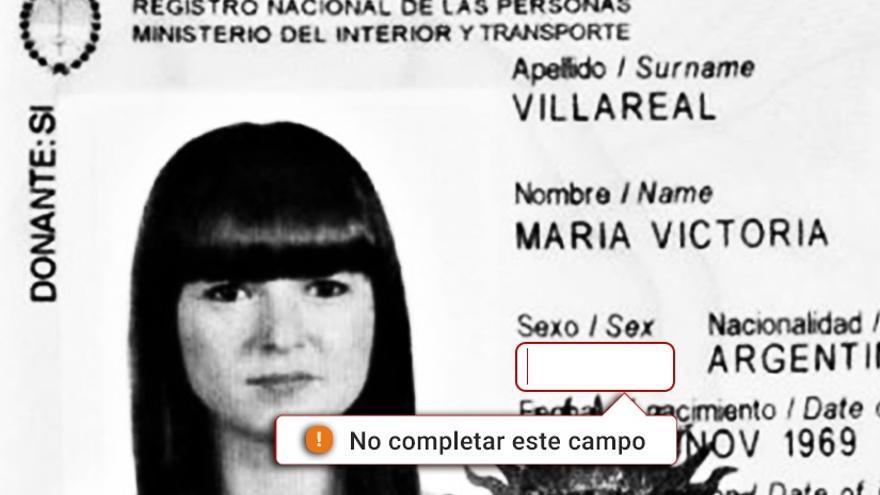 Documento de identificación argentino
