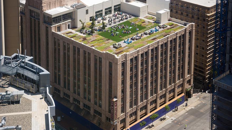 Azotea de Twitter HQ / Foto: urbanists