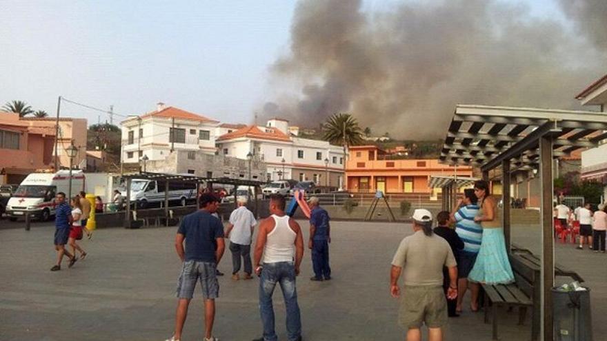 Del incendio en La Gomera #1