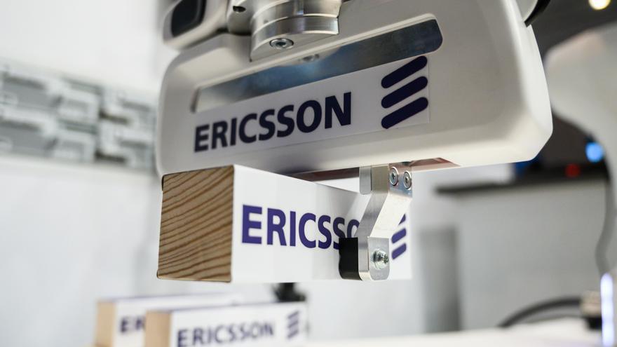 Un robot de Ericsson