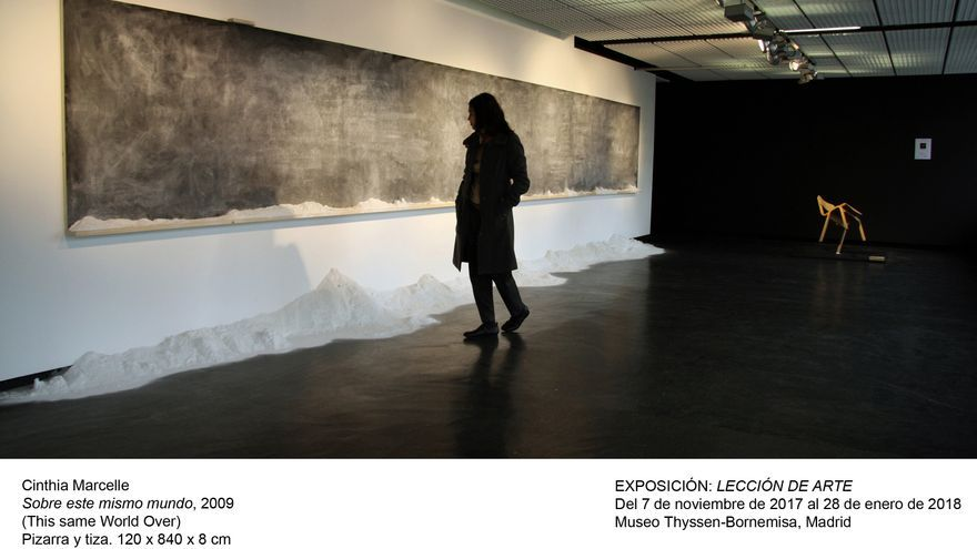 Cinthia Marcelle. Sobre este mismo mundo (2009)