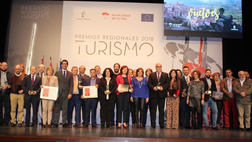 Entrega de los Premios Regionales de Turismo y los Premios Miguel de Cervantes de Gastronomía FOTO: JCCM