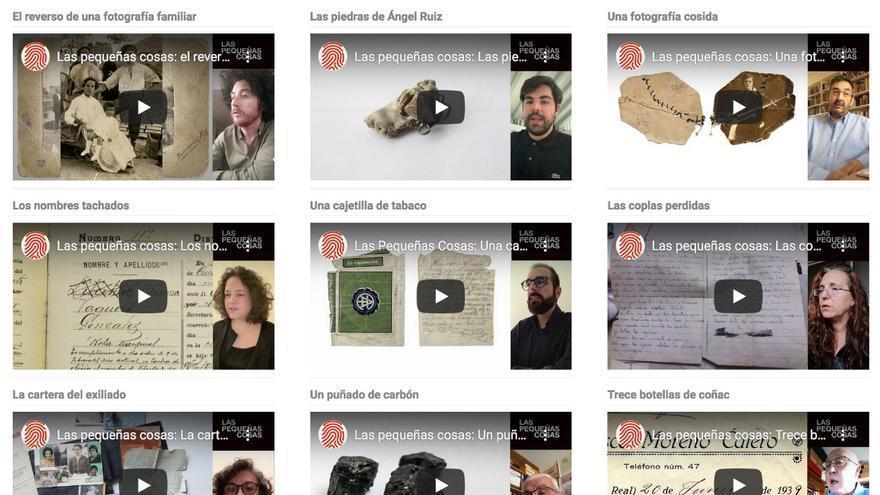 Los objetos que ayudan a recuperar la voz de las memorias perseguidas por el franquismo