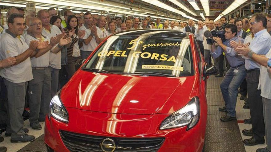 La planta de Figueruelas (Zaragoza) comienza a producir el nuevo Opel Corsa