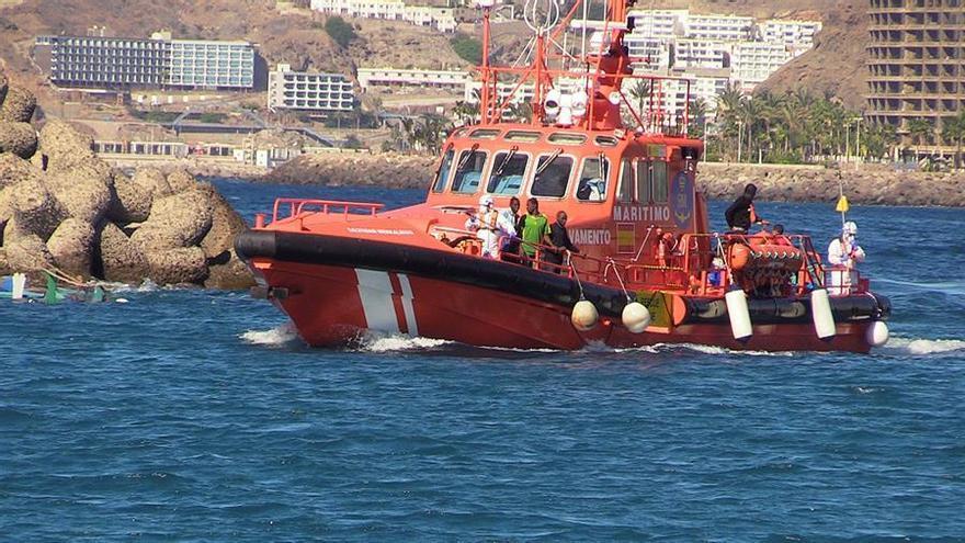 Rescatadas cinco pateras con 152 personas en altar mar al sur Gran Canaria