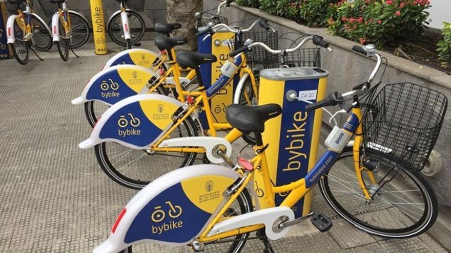 Servicio municipal de bicicletas de Las Palmas de Gran Canaria.