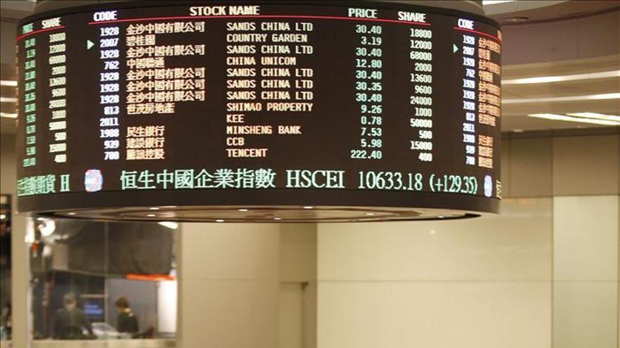 Hong Kong sube un 0,54 por ciento en la apertura de sesión