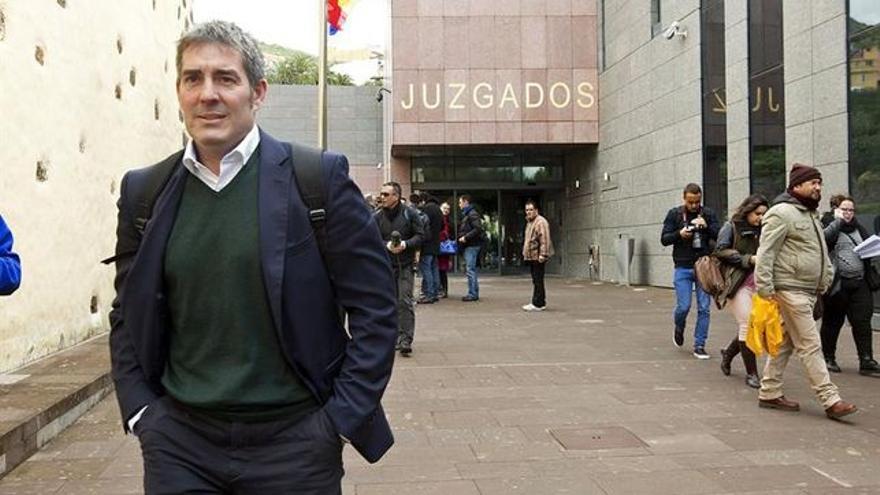 Fernando Clavijo, uno de los imputados.