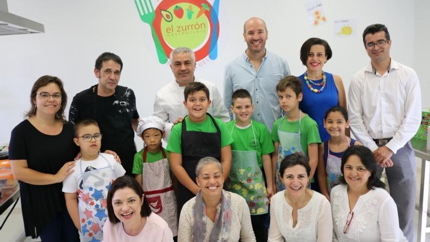 La gastro clase El Zurrón es una de las grandes apuestas pedagógicas del CEIP Las Tederas, en el municipio grancanario de Santa Lucía.