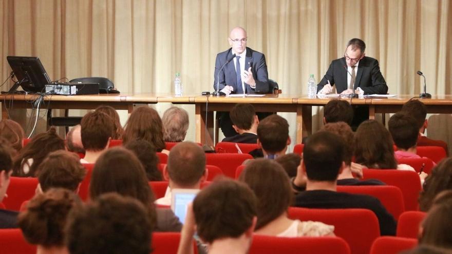 """Romeva dice que la reacción de Europa """"definirá su credibilidad como proyecto común"""""""