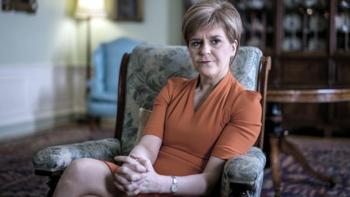 Nicola Sturgeon, ministra principal escocesa y líder del Partido Nacional Escocés (SNP)