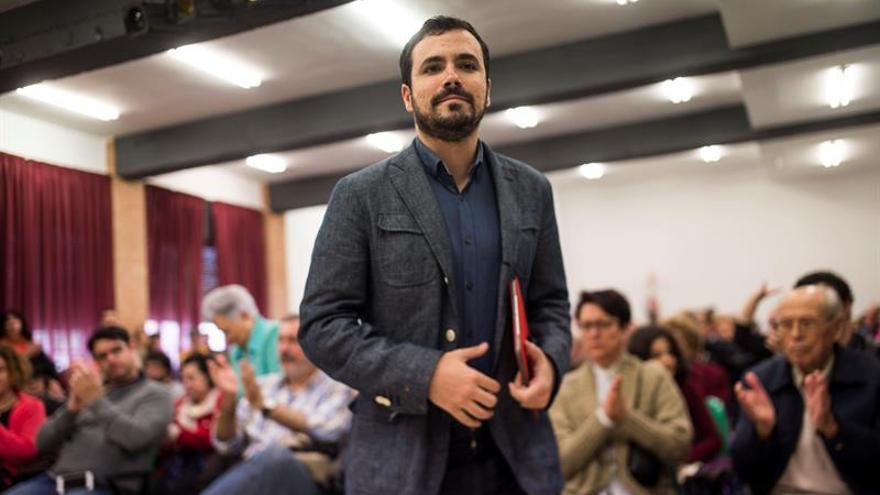 La oposición a Garzón en IU cree que el pacto con Podemos está ya precocinado
