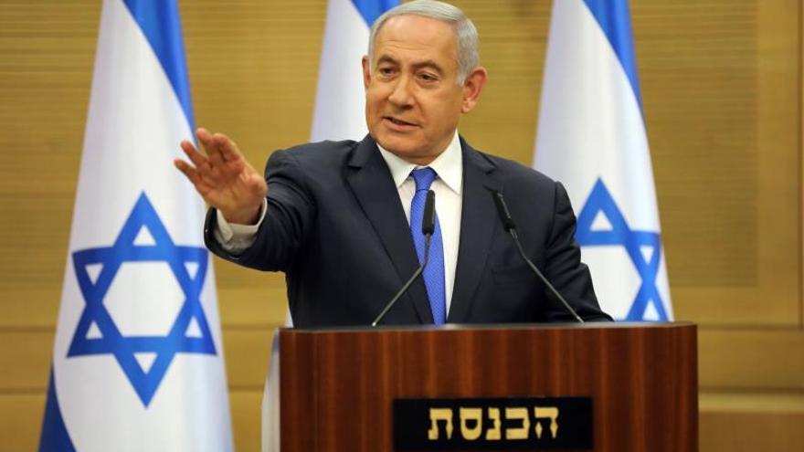 Netanyahu sigue sin lograr un acuerdo de Gobierno a pocas horas de plazo límite