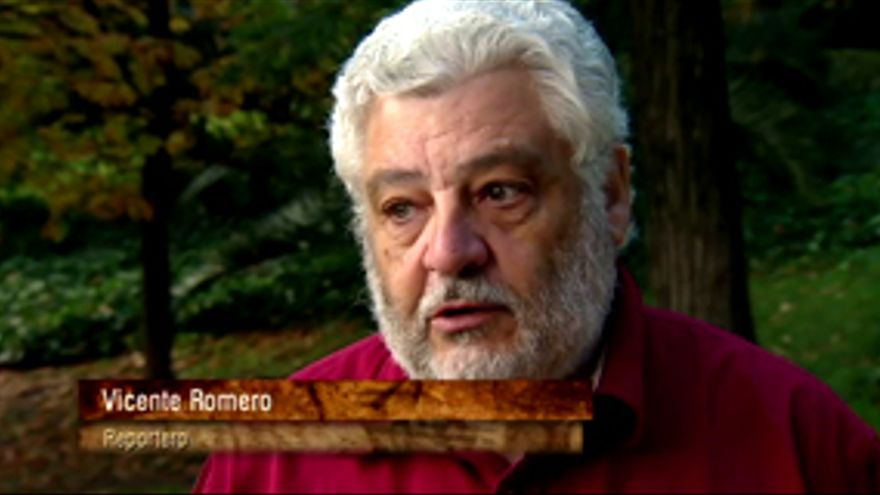 """""""Así fue el adiós obligado en TVE de Vicente Romero, el que fue nuestros ojos durante décadas"""""""