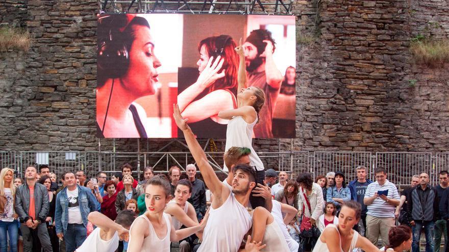 Actividades realizadas durante la fiesta Arejira en la nueva sede de DSS2016. / Foto: San Sebastián 2016
