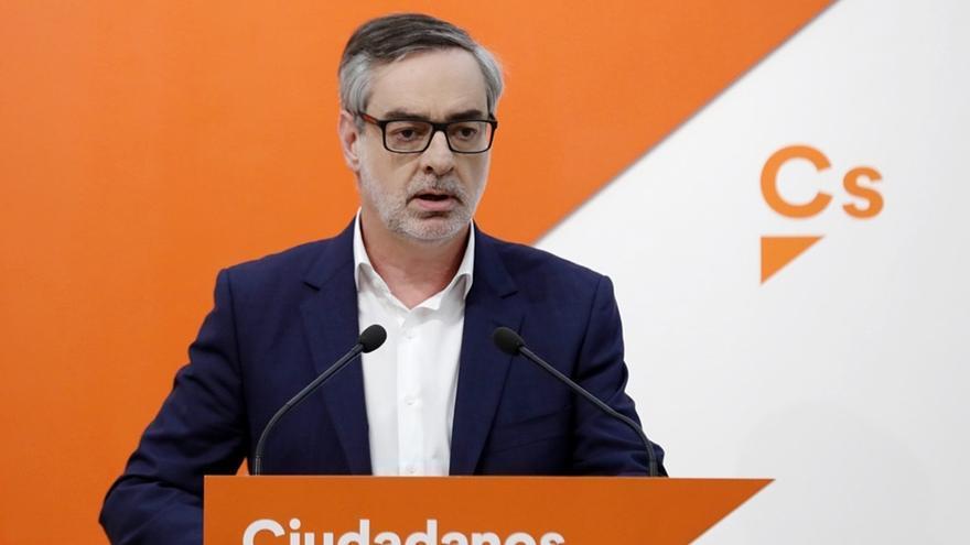 """Villegas afirma que el """"colapso"""" del PP se debe a que Rajoy no afrontó la corrupción, y no a la postura de Cs"""