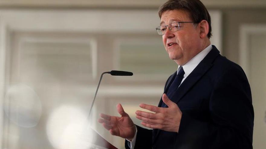 """Ximo Puig pide pragmatismo al soberanismo y ve """"adecuada"""" la senda de Torrent"""