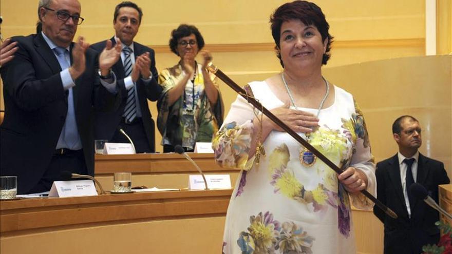 La socialista Clara Luquero, reelegida como alcaldesa de Segovia
