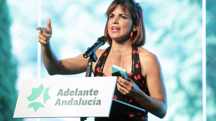 Teresa Rodríguez, elegida portavoz de Adelante Andalucía con 97 % de apoyos