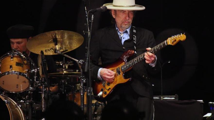 Bob Dylan durante un concierto