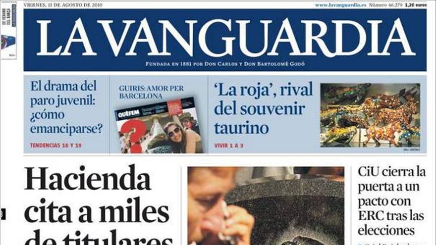 De las portadas del día (13/08/2010) #8