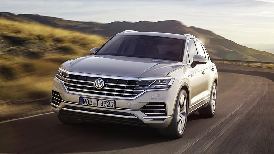Nueva generación del Volkswagen Touareg.