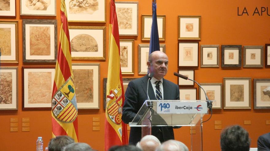 De Guindos revela que el referéndum le crea problemas con un fabricante de coches que quiere invertir en Cataluña
