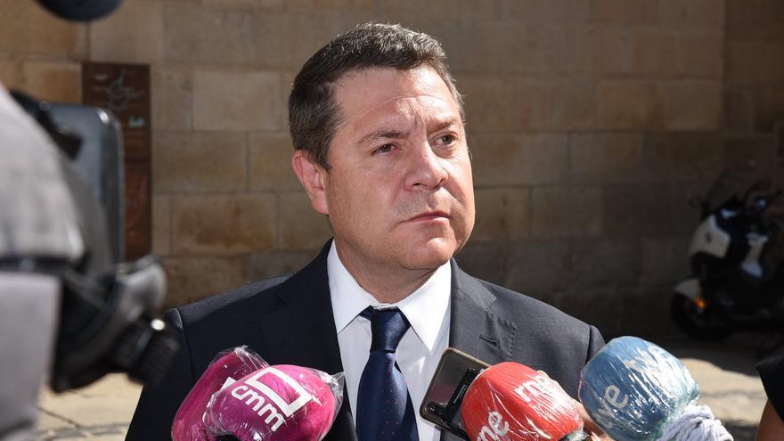 """García-Page: """"Que nadie piense que realmente esto ya ha pasado"""""""