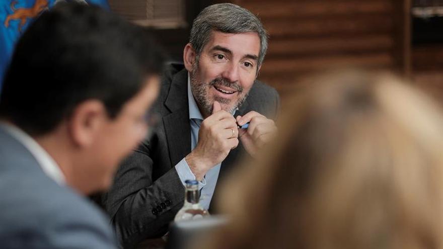 El presidente en funciones del Ejecutivo canario, Fernando Clavijo. EFE/Ángel Medina G.
