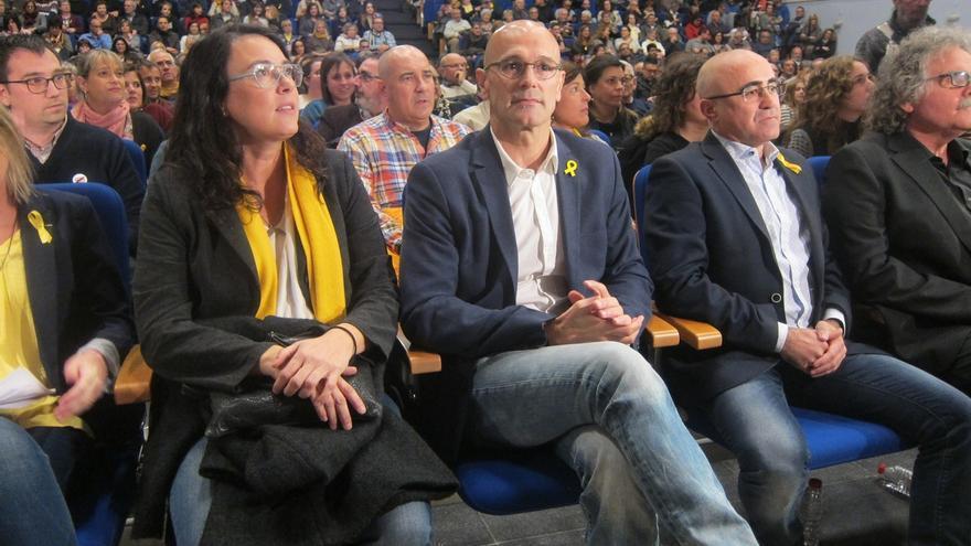 "Romeva llama a ganar la República ante un ""régimen injusto, indigno e ignominioso"""