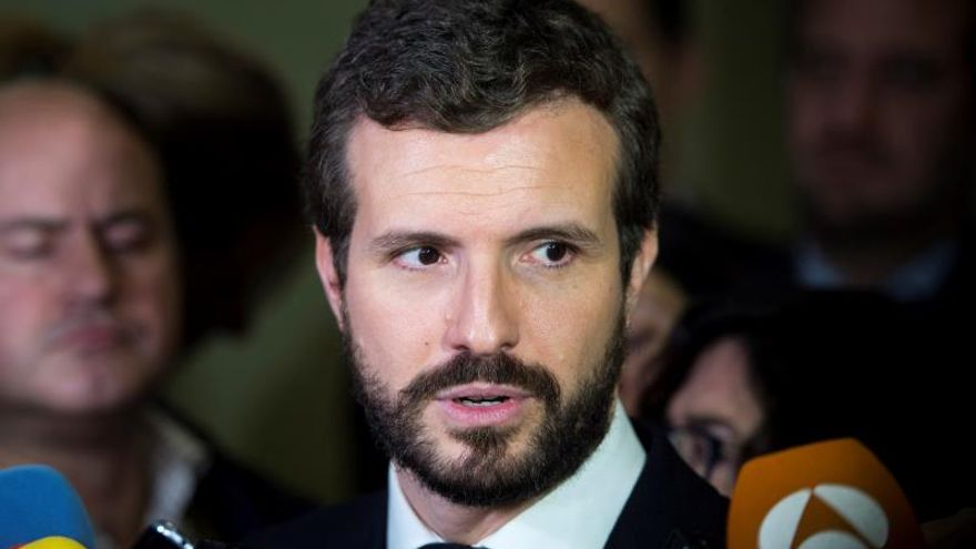 "Casado acusa a Sánchez de ""consumar la traición a España"""