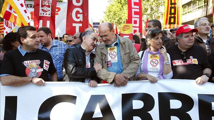 Más de 250.000 trabajadores catalanes, convocados a huelga por los convenios