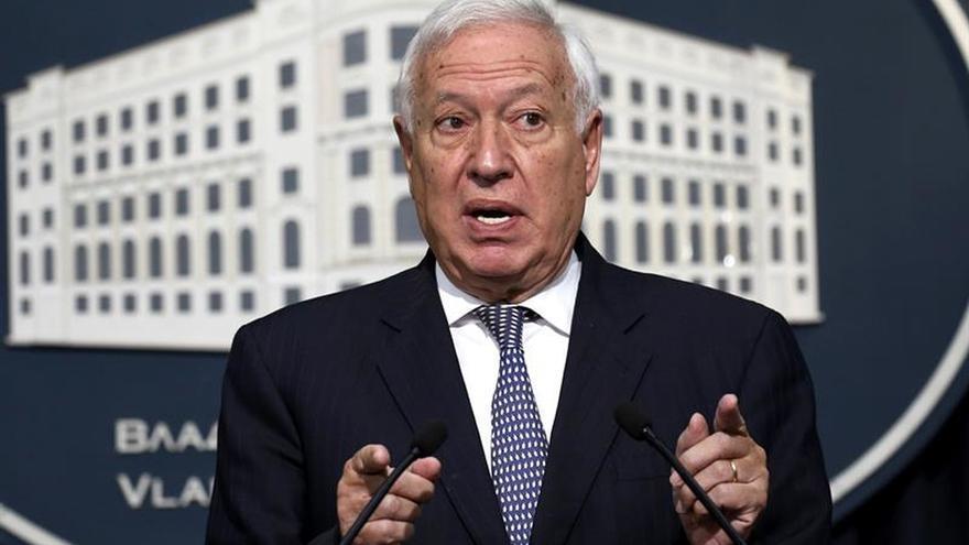 Margallo afirma Cataluña y Kosovo no son un Estado porque no se les reconoce