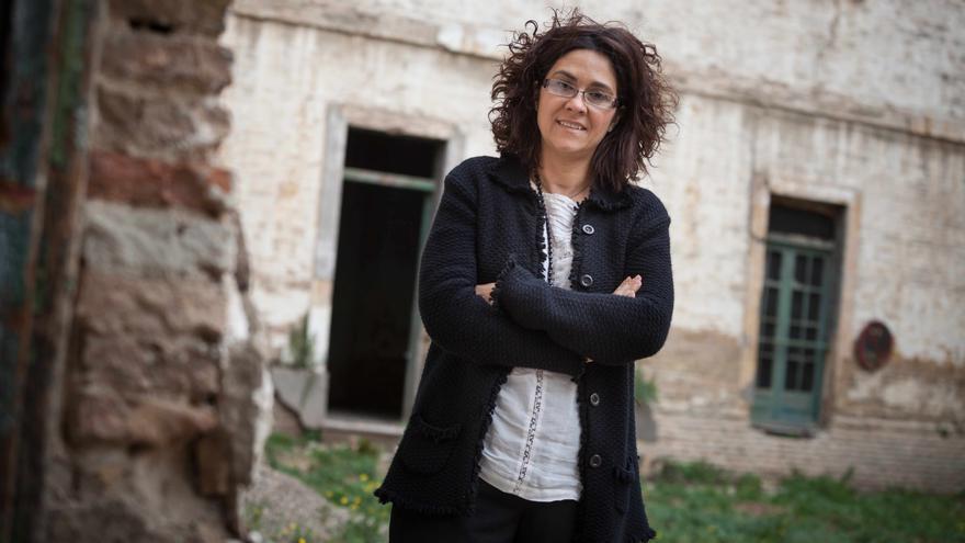 Susana Gaspar fue la candidata de Ciudadanos a la presidencia del Gobierno de Aragón
