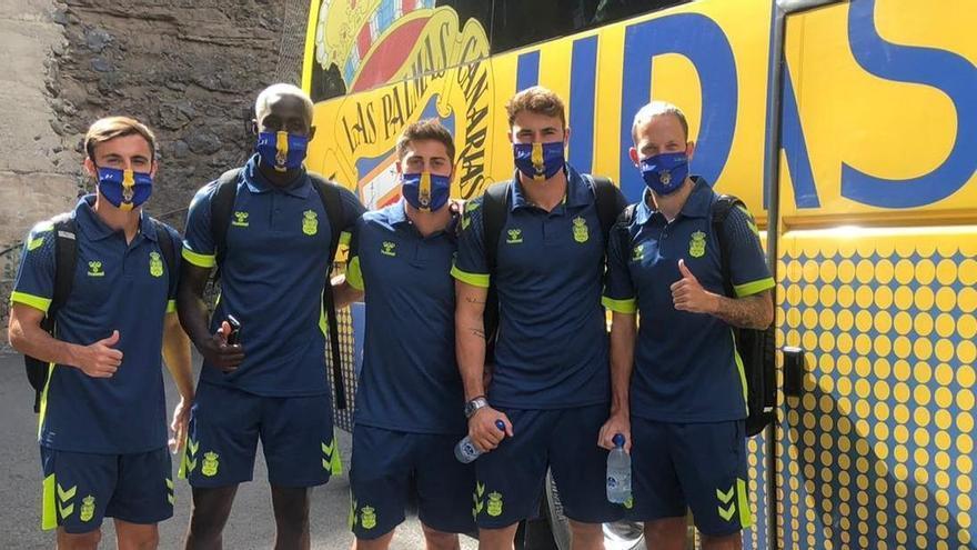 Los amarillos, antes de partir hacia Málaga