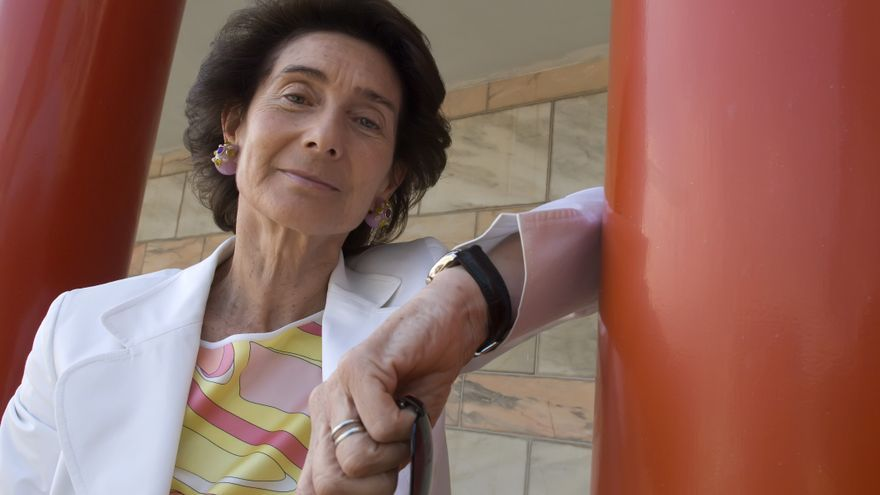La presidenta de la Fundación Albéniz, Paloma O'Shea. | JOAQUÍN GÓMEZ SASTRE