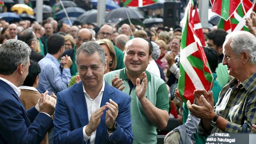 Ortuzar pide no votar para dar patada a Rajoy, sino para empujar a Euskadi