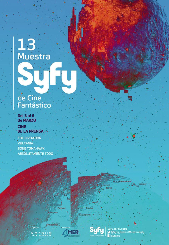 Cartel oficial de la Muestra SyFy 2016