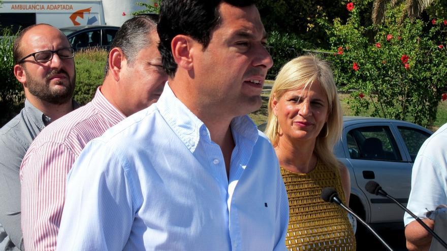 """Moreno (PP-A) dice que """"cada día que pasa hay una mayoría silenciosa en contra de la ruptura"""""""