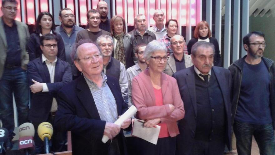 ACPV manifestación Catalunya Ràdio