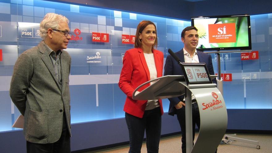 """María Chivite dice que """"la presunta unidad del cuatripartito se ha diluido como un azucarillo"""""""