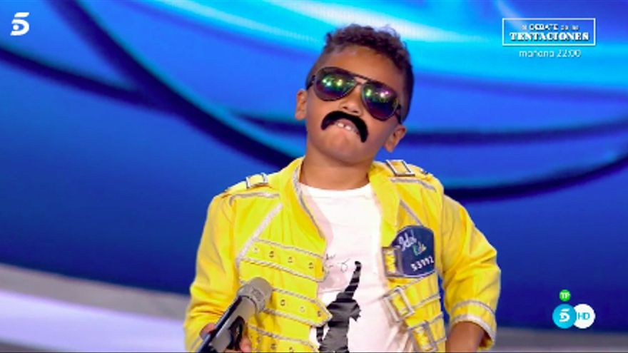 Freddie Mercury se reencontró con Edurne en 'Idol Kids'